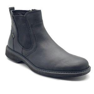ECCO Turn GTX Chukka Boot, Black, 8 US